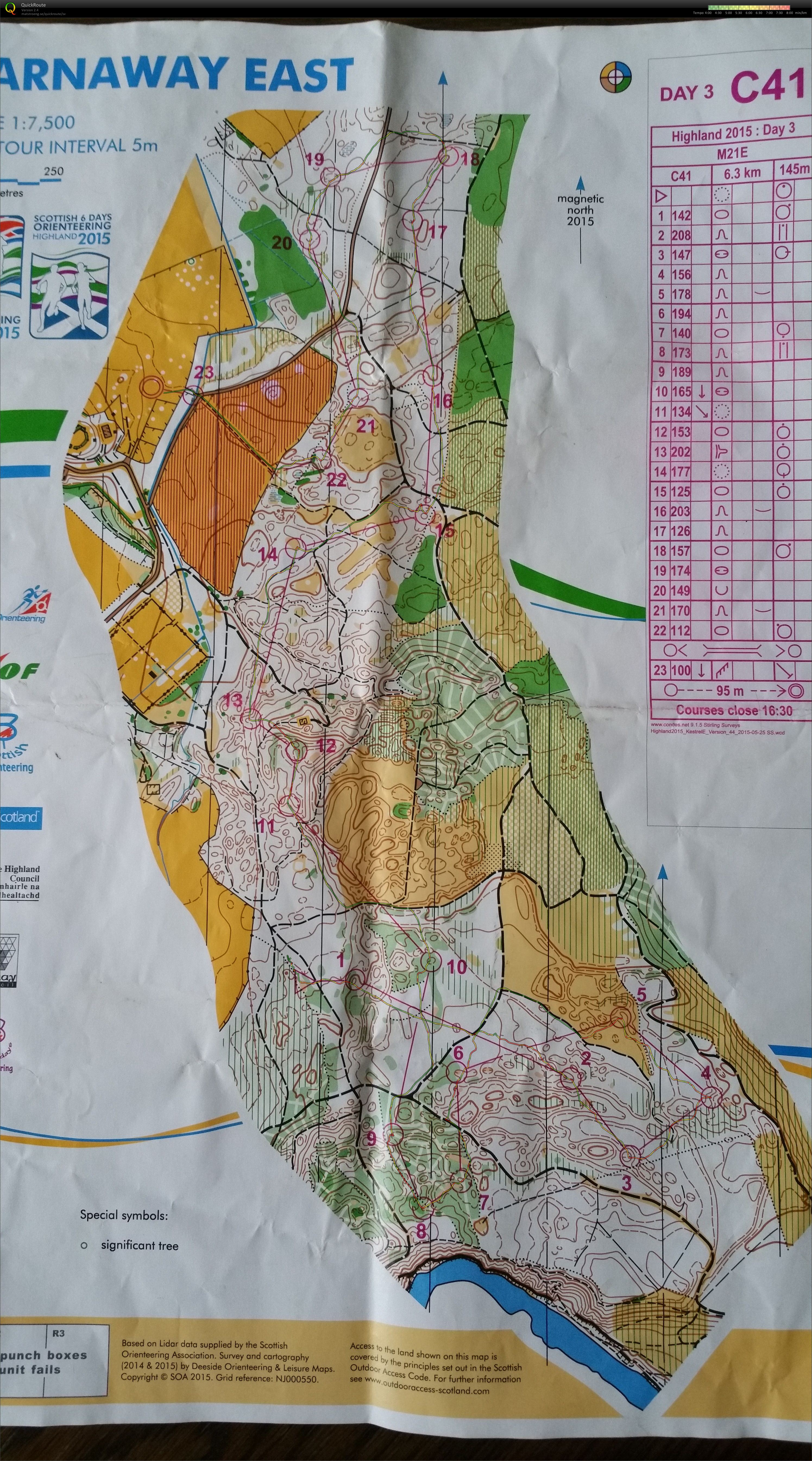 Scottish 6-days, etapp 3, H21 Elit (2015-08-04)
