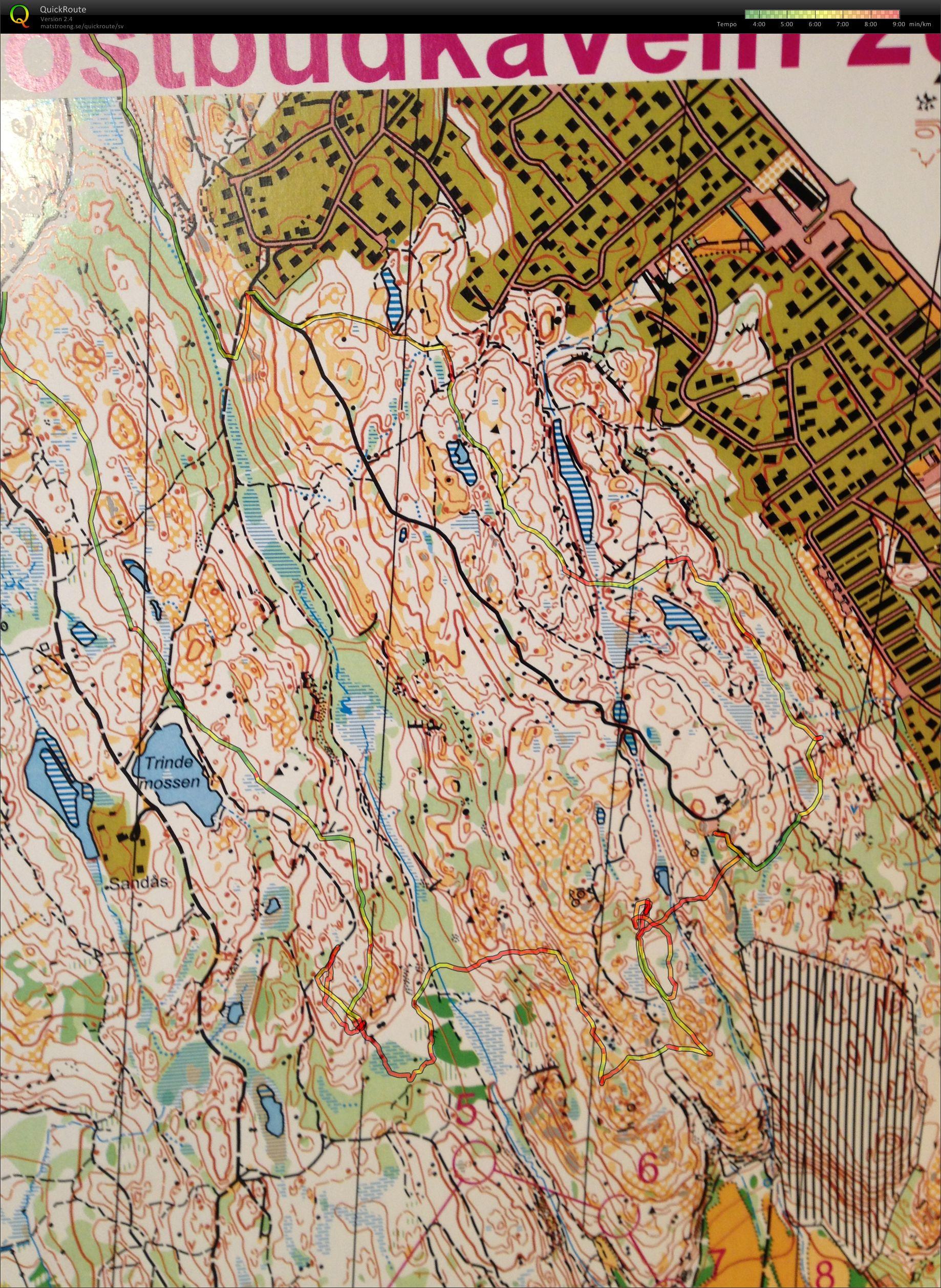 änggårdsbergen karta Mitt digitala kartarkiv :: Änggårdsbergen ol intervaller (2013 01 17) änggårdsbergen karta